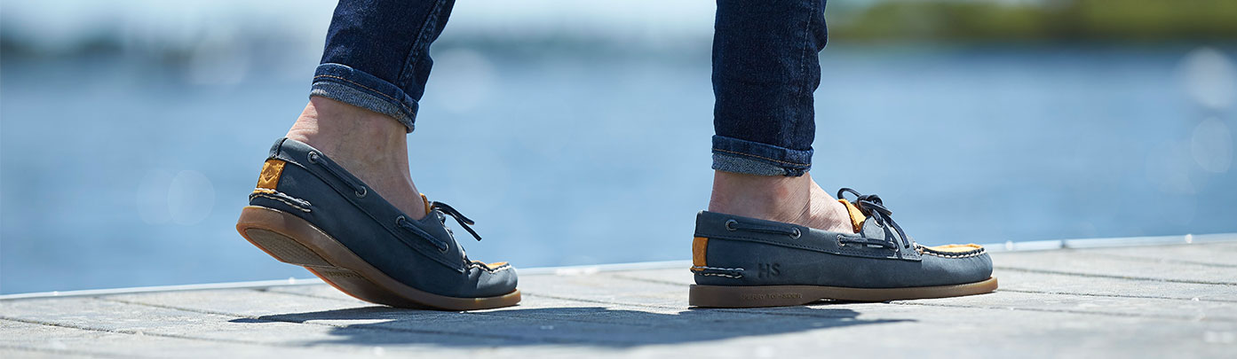 Sperry's custom shoes.