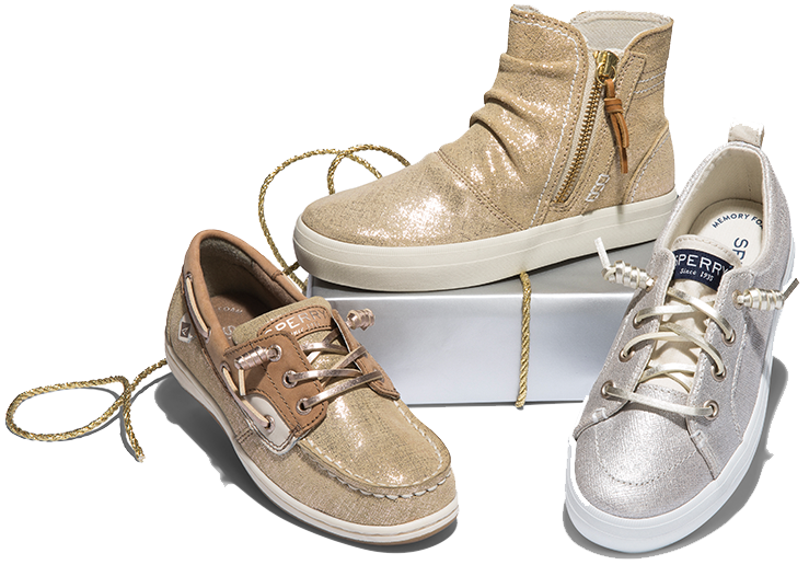Sperry's Kids Holiday Shine.