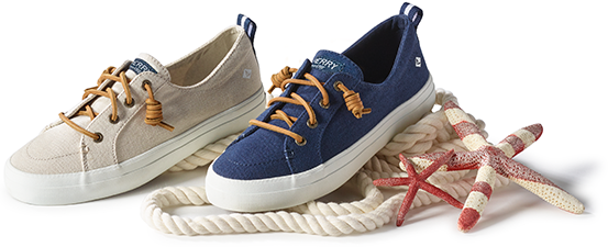 Sperry's Warm Weather Shoes.