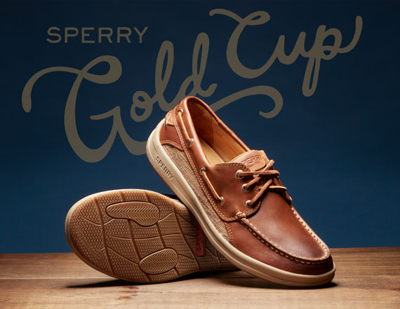 Standout Sperry sneakers.