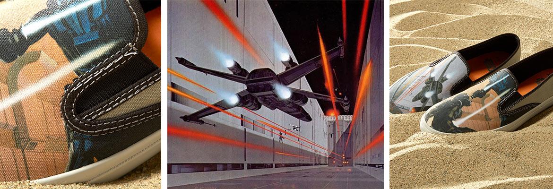 Star Wars x Sperry CLOUD SLIPON MCQUARRIE