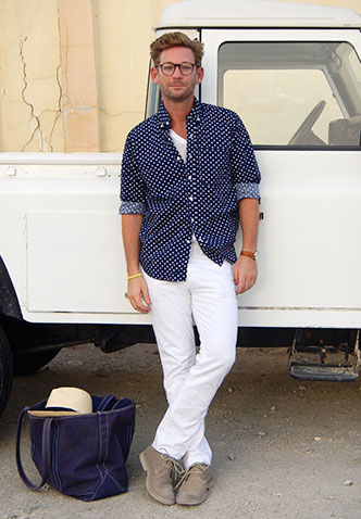 Blogger Walker Lamond writes about Classic Sperry Style.