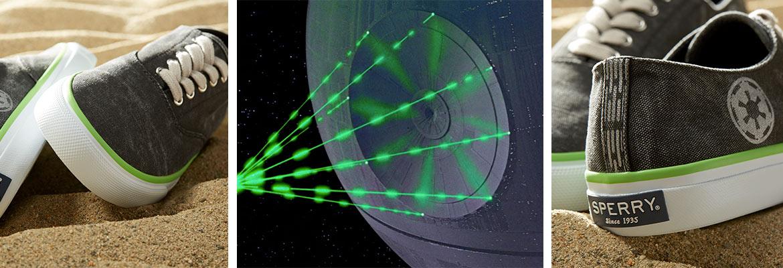 Star Wars x Sperry Cloud CVO Death Star
