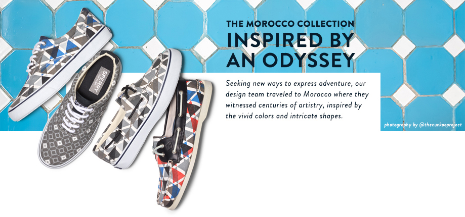 Sperry Morocco Collection.