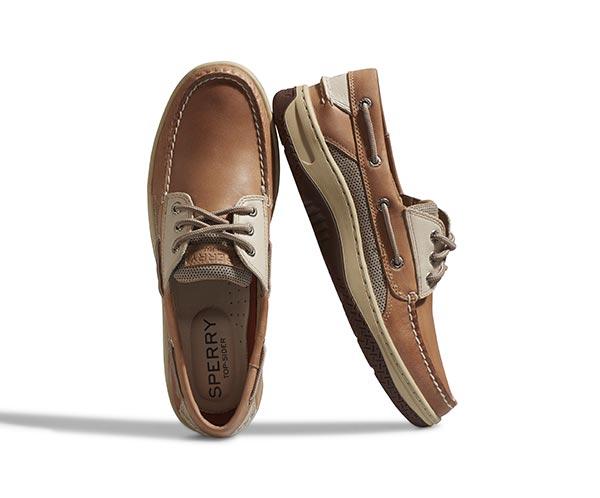 856133368 Men's Billfish 3-Eye Boat Shoe