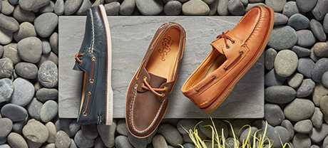 Men's Boat Shoes.