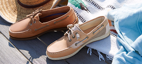 Women's Boat Shoes.