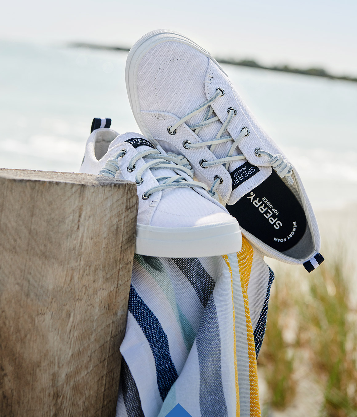 Sperry Lace-Up (or Slip-On).