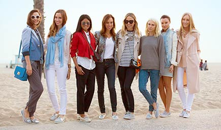 4 hot trends from L.A.'s hottest style bloggers. Seasonal style inspiration from Sperry Top-Sider | #sperrytopsider