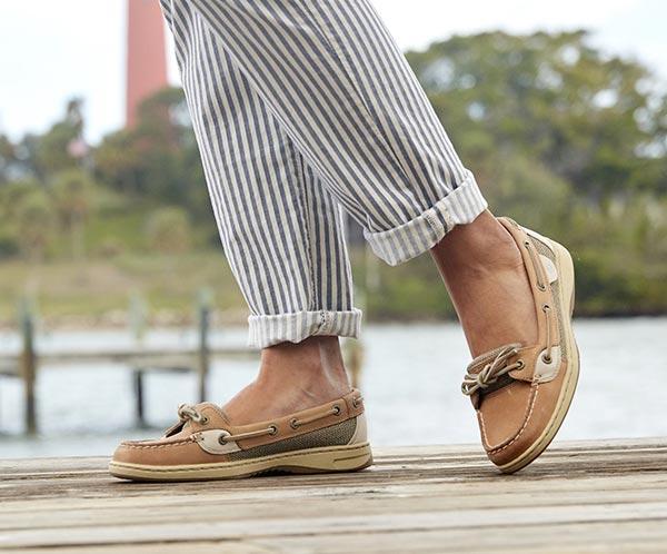 Women S Angelfish Slip On Boat Shoe