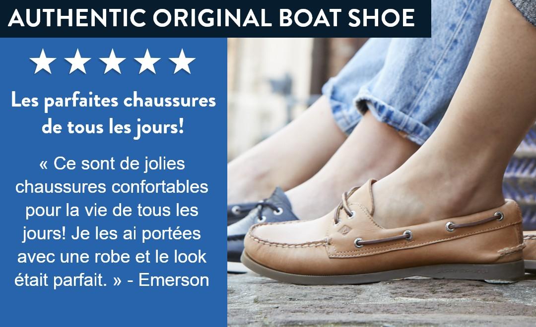 Authentic Original Boat Shoes.