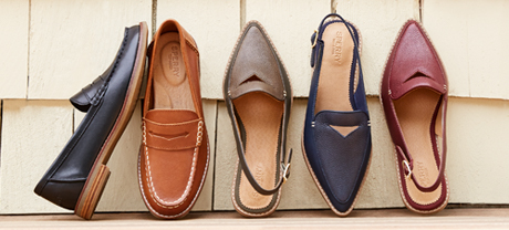 4 Sperry Shoes from the Seaport Collection.