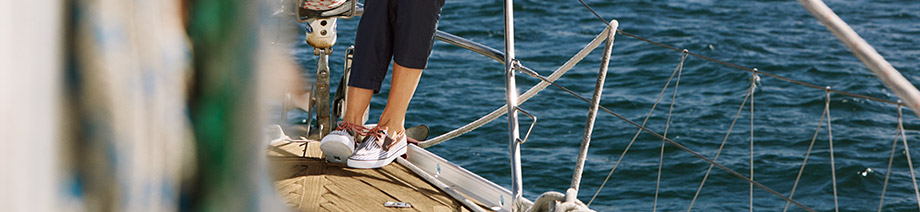 Order Bahama women's suede and canvas boat shoes from Sperry Top-Sider.