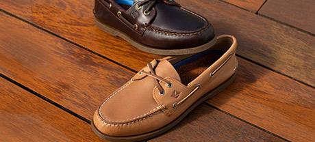 Men's Boat Shoes.