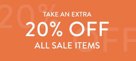 Take an Extra 20% Off All Sale Items | Use code SALE20 | Limited time only.