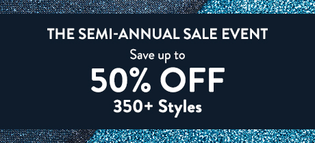 The semi-annual sale event.
