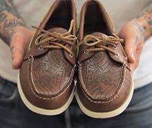 Learn about shoe tattooing