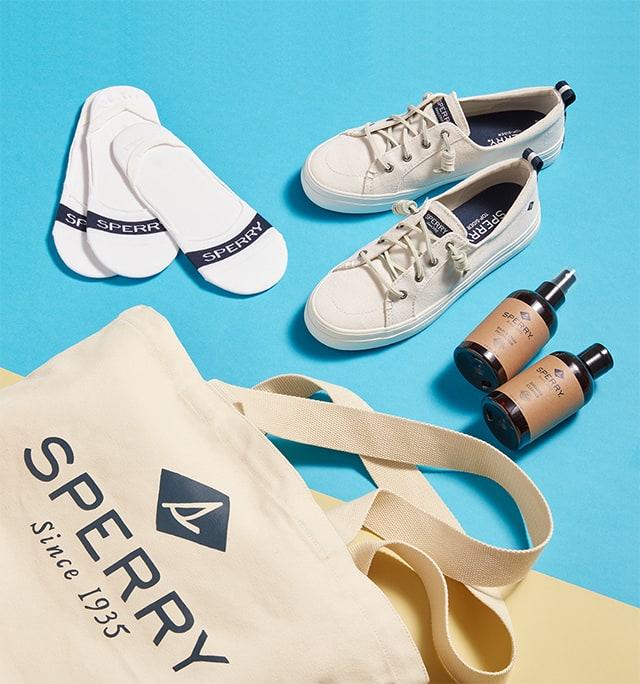 Women's sneaker bundle.