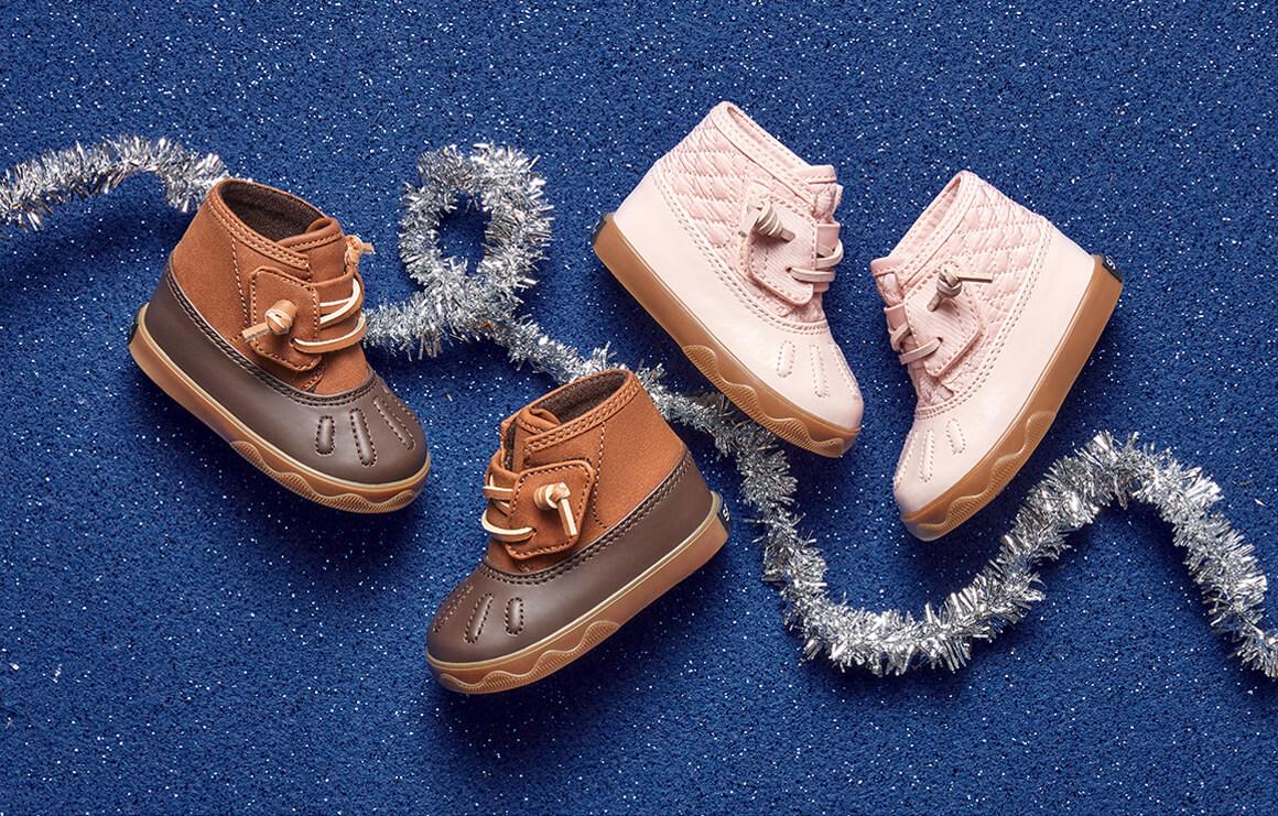 Tiny boots.