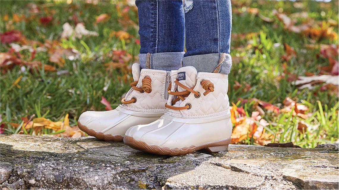 Girls boots.
