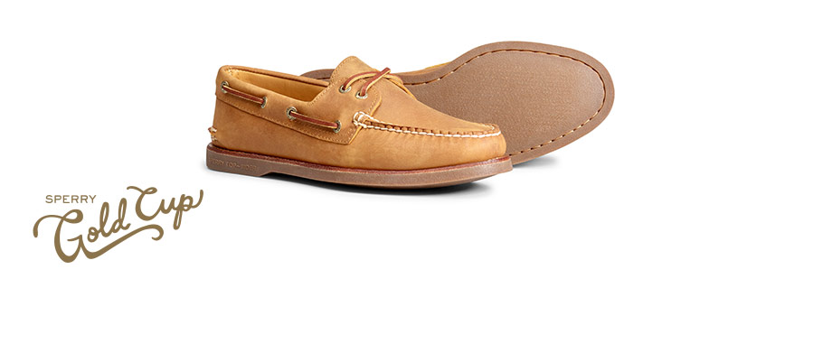 the Gold cup authentic original boat shoe