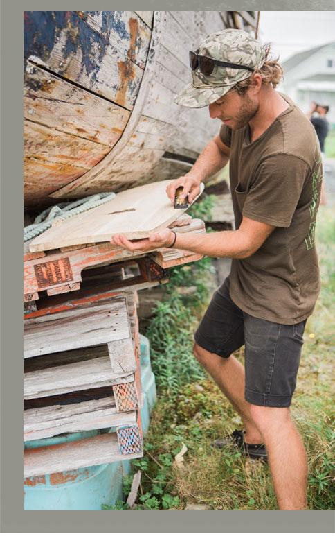 Board Crafting in Nova Scotia