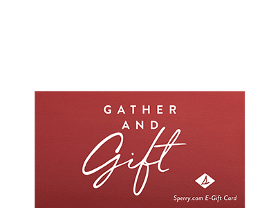 Sperry gift card.