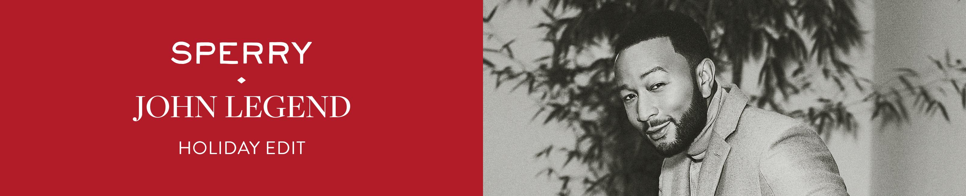 Sperry - John Legend - Holiday Edit.