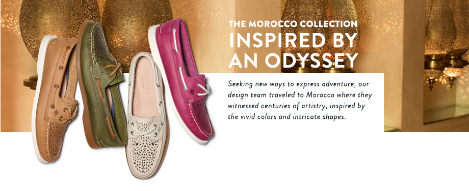 Sperry Morocco Collection