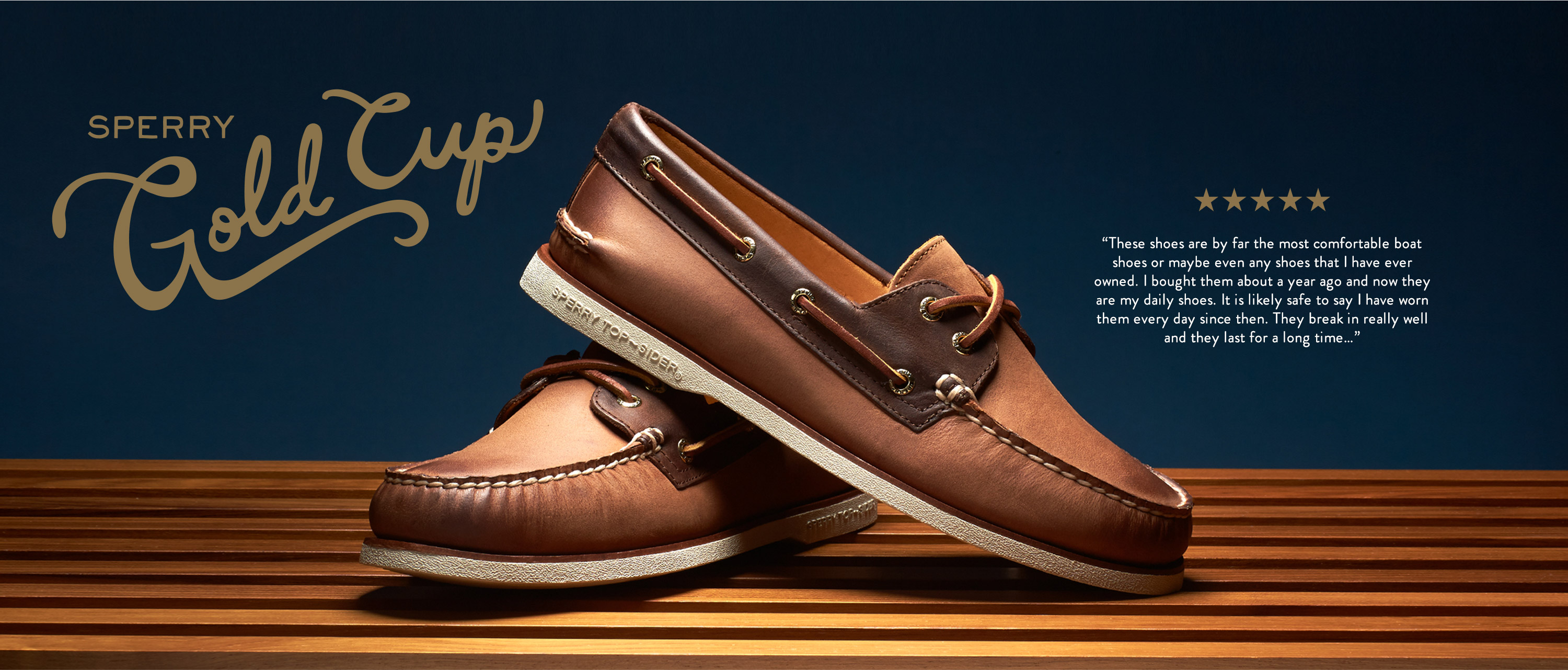 Sperry Gold Cup Collection | Sperry |Sperry Gold
