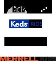 Saucony Kids, Keds Kids, Hush Puppies Kids, Merrell Kids