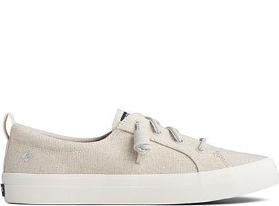 White Sperry Sneaker.