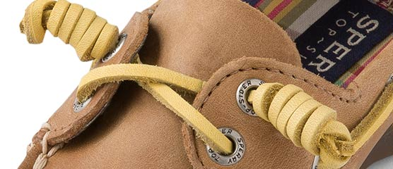Customize Boat Shoes: How to Tie Boat