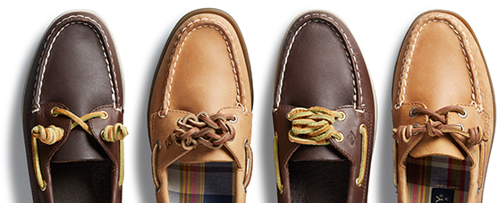 quality design 047f4 ec55b How To Tie Boat Shoes  The Sperry Lacing Guide