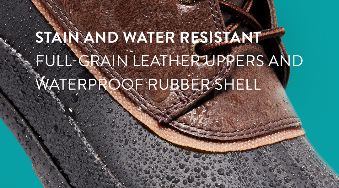 Non-marking diamond lug outsole with signature sperry razor-cut wave-siping for traction.