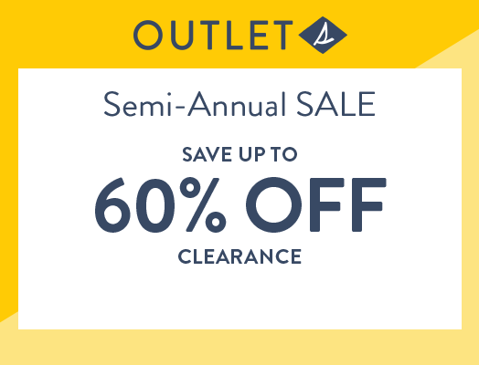 Sperry Outlet | Semi-Annual SALE | Save up to 60% off clearance