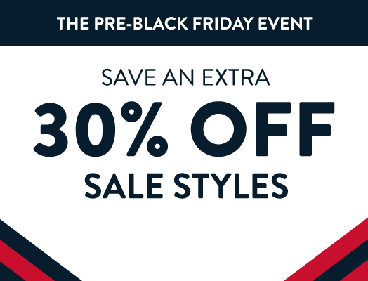 Save an Extra 30% Off Sale Styles. Use code EARLY. Shop early for best selection.