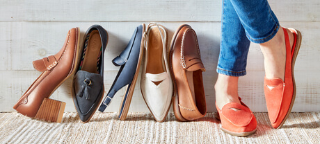 Women's loafers.
