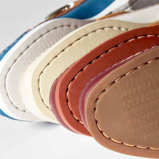 Various color soles