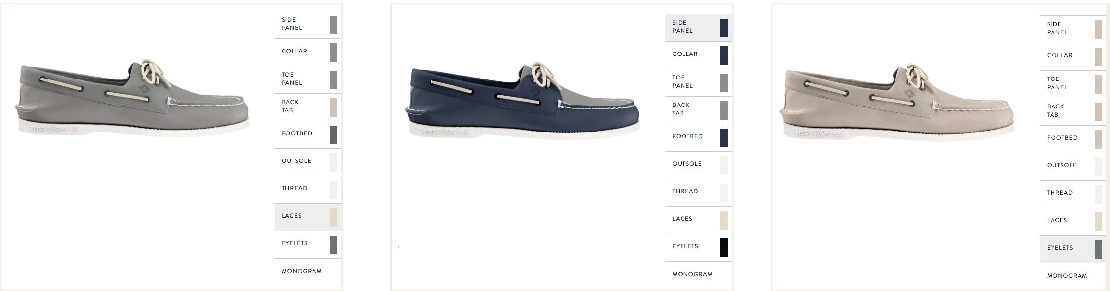 Customizable Men's Shoes