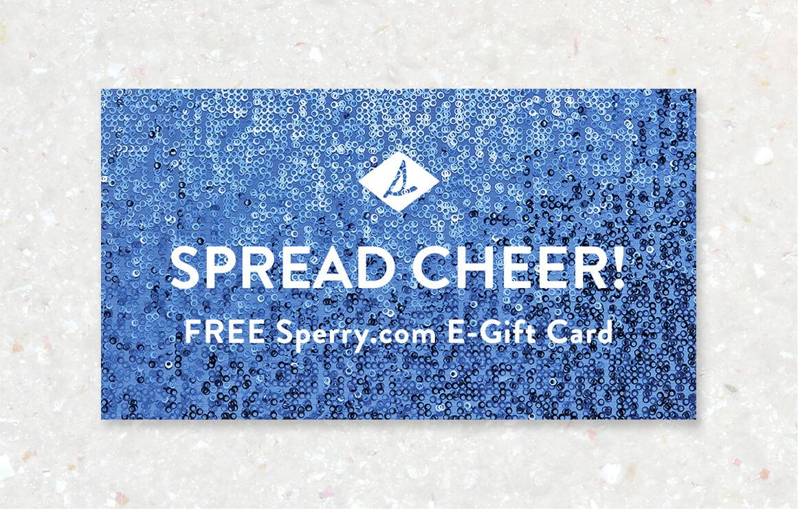 Spread Cheer e-Gift Card.