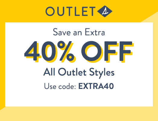 Sperry Outlet | Save an Extra 40% OFF All Outlet Styles | Use code: EXTRA40