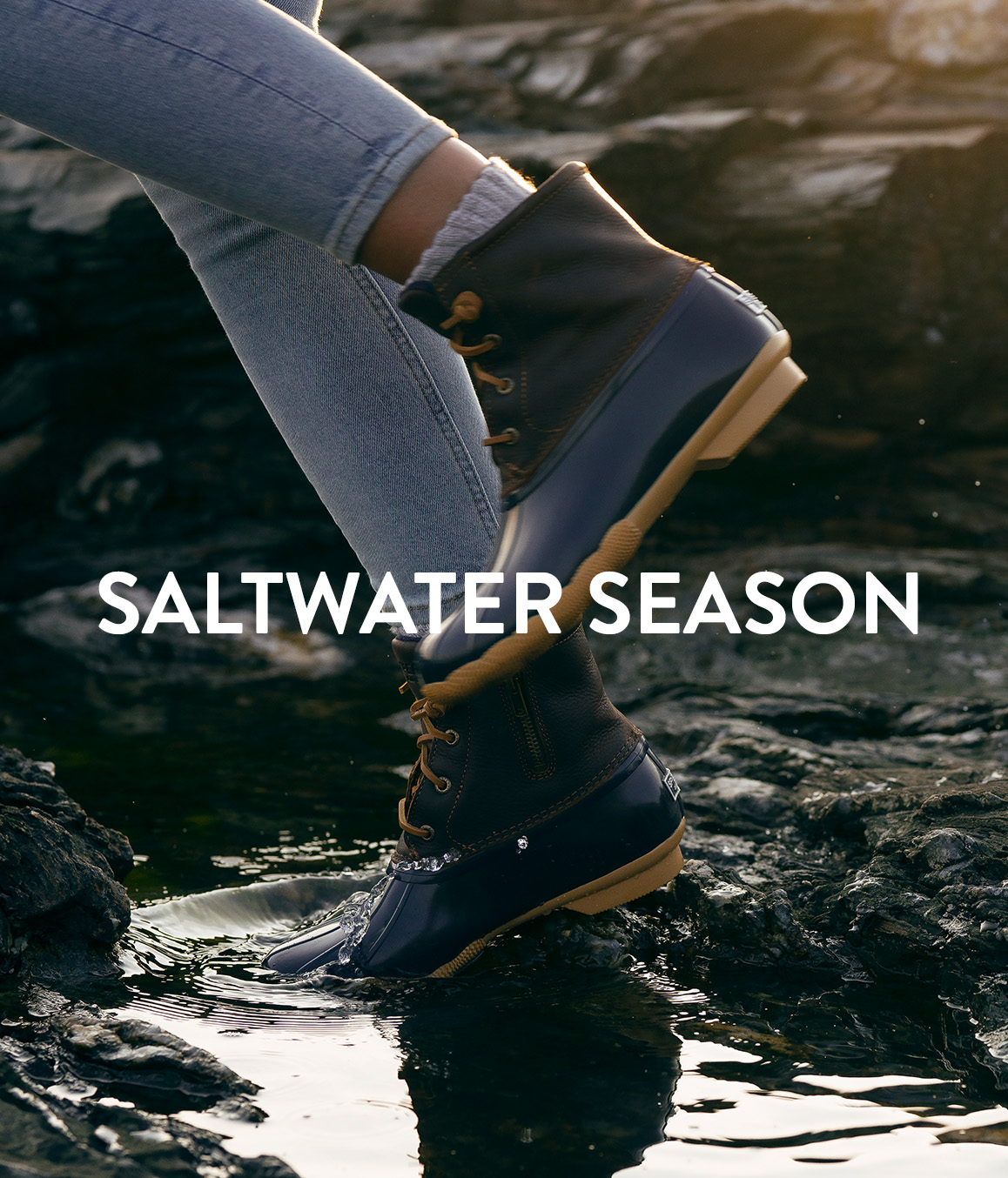 Women wearing Saltwater Boots