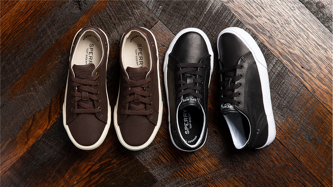 Two pair of Sperry Boys Sneakers