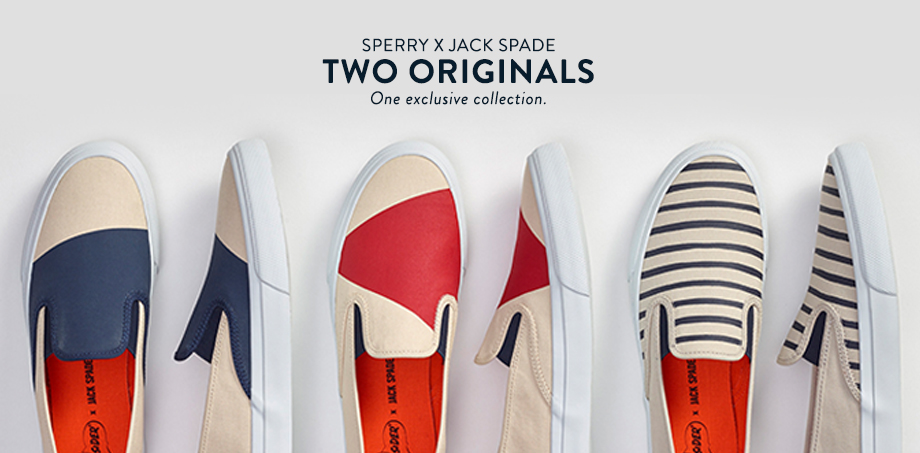 Sperry x Jack Spade Collection.