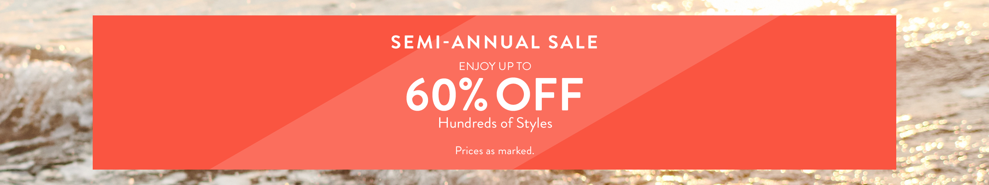 Sperry Semi-Annual Sale. Up to 60% off