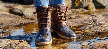 Women's Saltwater Boots.