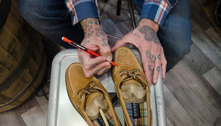 Shoe Tattoo