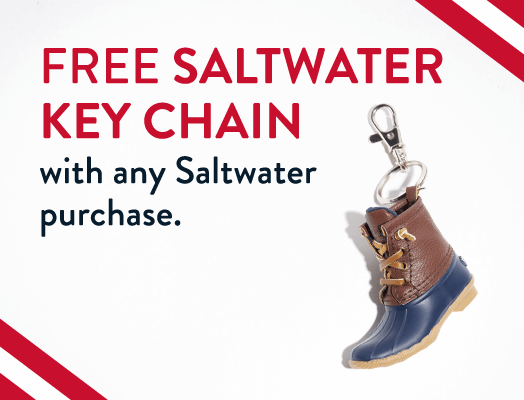 FREE Saltwater Key Chain with any Saltwater purchase