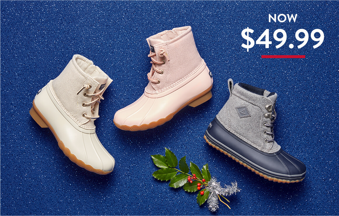 Boots for girls and boys.
